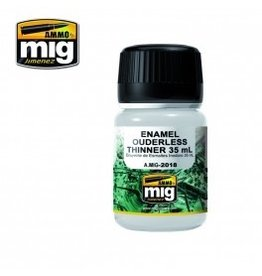 AMMO: of Mig Jimenez A.MIG-2019 ENAMEL OUDERLESS THINNER 100 ml