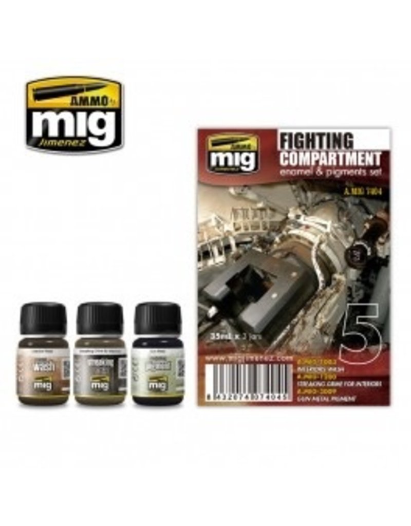 AMMO: of Mig Jimenez A.MIG-7404 FIGHTING COMPARTMENT SET