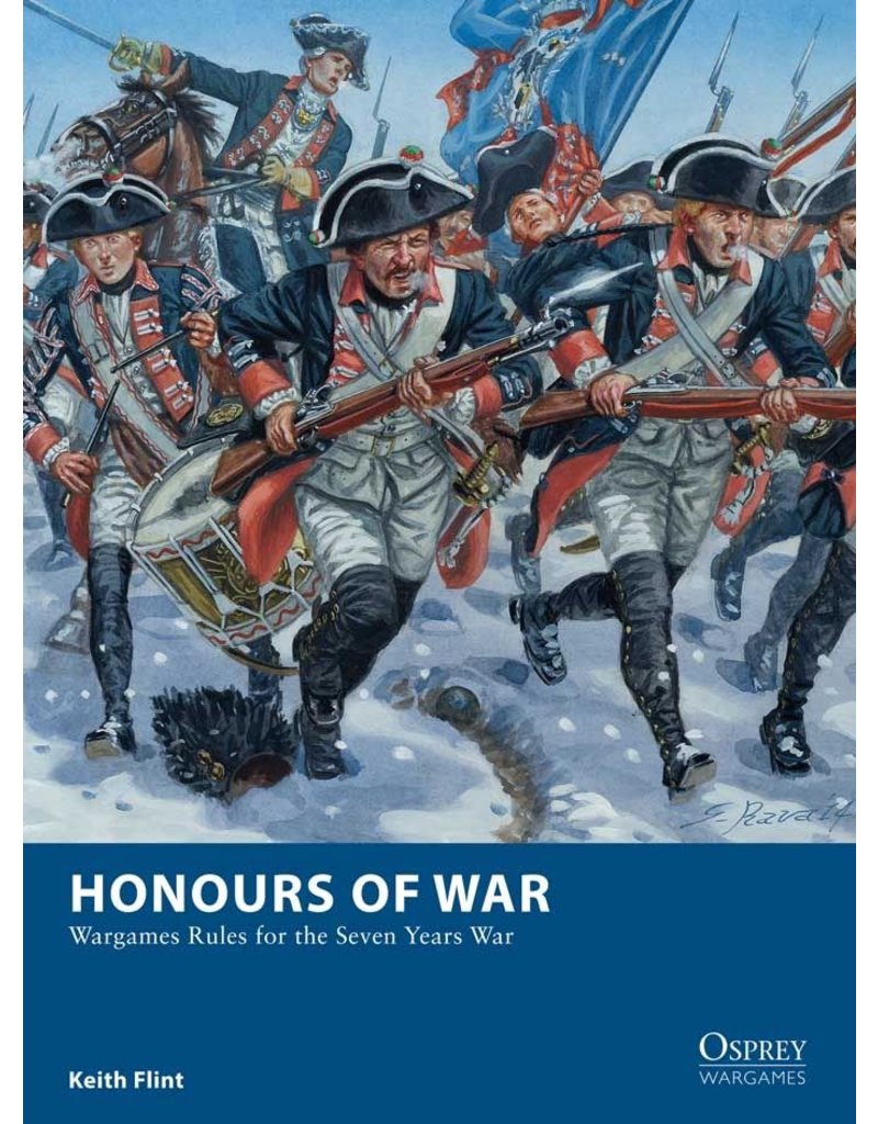 Osprey Honours of War: Wargames Rules for the 7 Years War