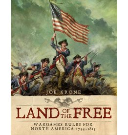 Osprey Land of the Free: Wargames Rules for North America 1754-1815