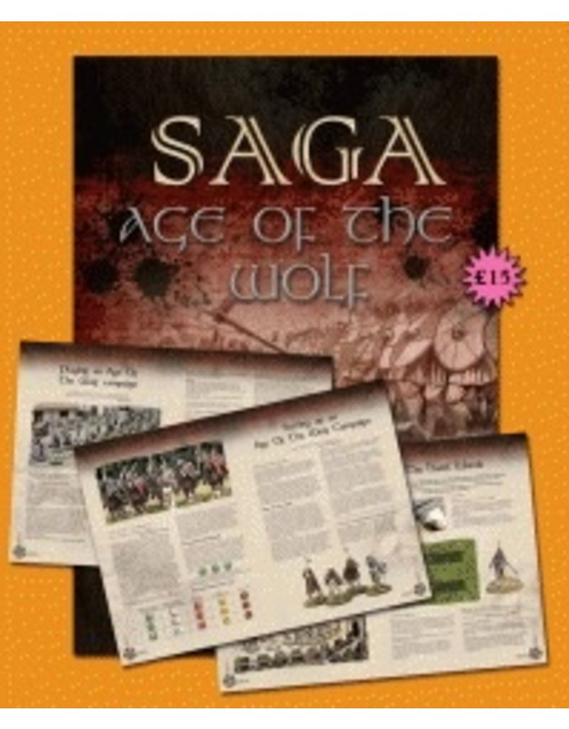 Gripping Beast SAGA The Age of the Wolf (Campaign Book)