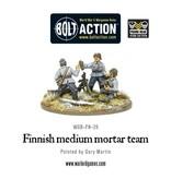 Bolt Action Finnish medium mortar team
