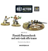 Bolt Action Finnish Panzerschreck and anti-tank rifle teams
