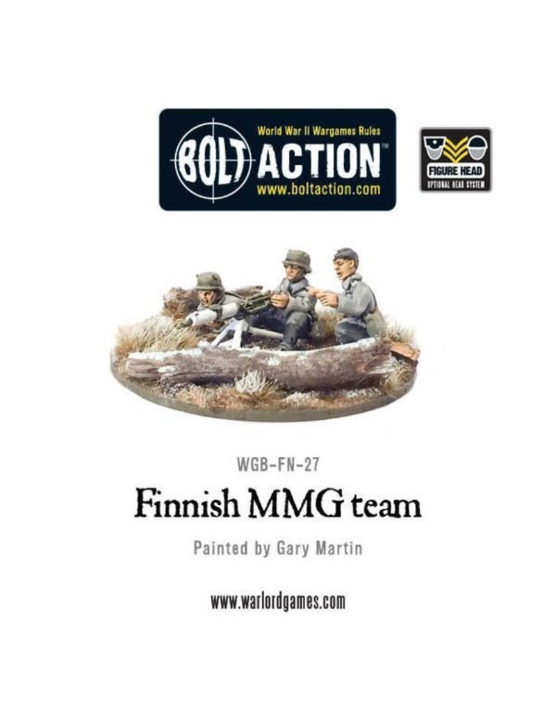Bolt Action Finnish MMG Team