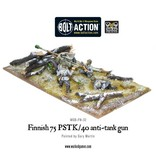 Bolt Action Finnish 75 PSTK/40 anti-tank gun