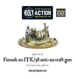 Bolt Action Finnish 20 ITK/38 anti-aircraft gun