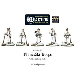 Bolt Action Finnish Ski Troops