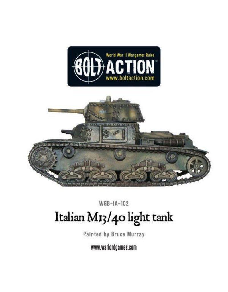 Bolt Action BA Italian Army: M13 / 40 Italian Tank