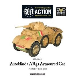 Bolt Action BA Italian Army: Autoblinda AB41 Armoured Car