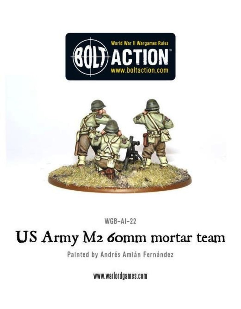 Bolt Action BA American Army: 60mm Mortar Team
