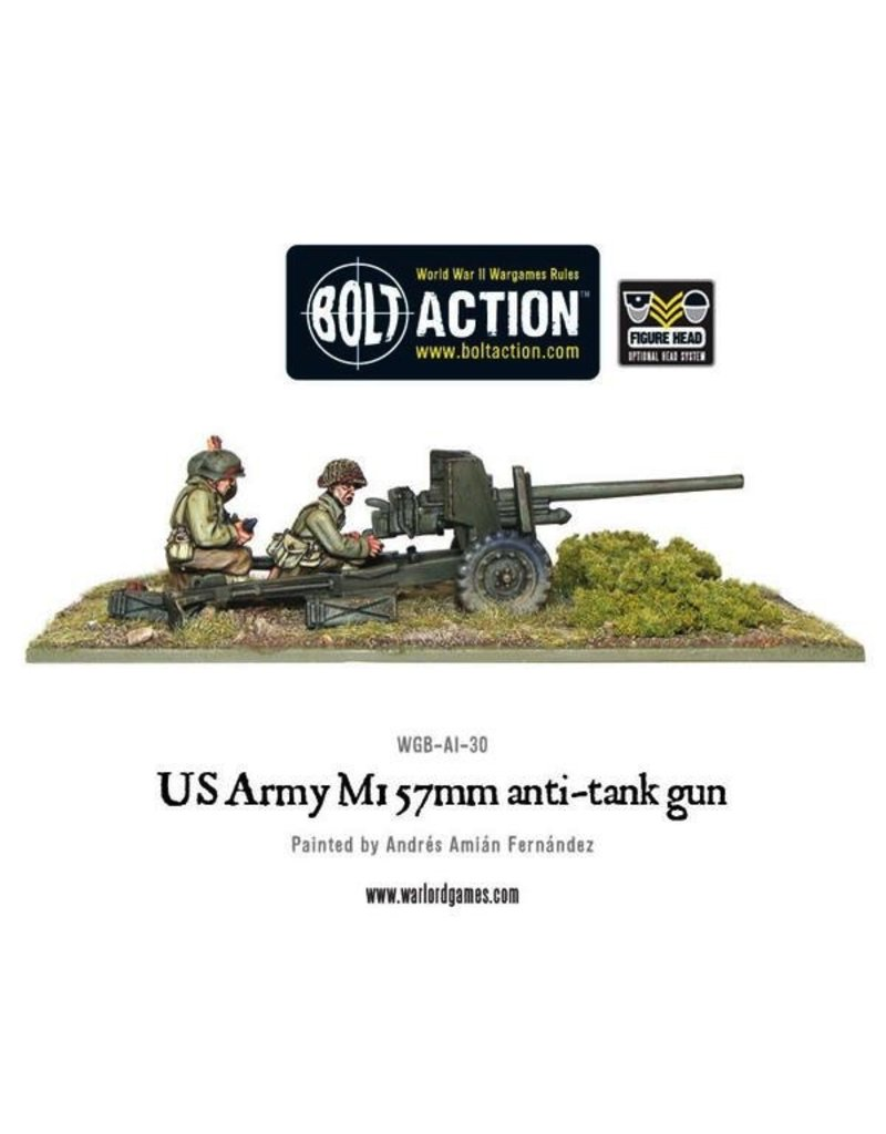 Bolt Action BA American Army: 57mm Anti-Tank Team