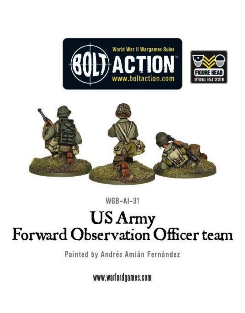 Bolt Action BA American Army: US Forward Observer Officers (FOO)
