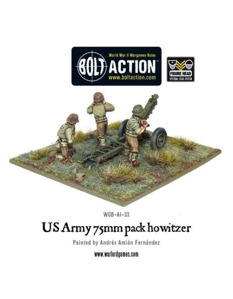 Bolt Action American Army: 75mm Howitzer