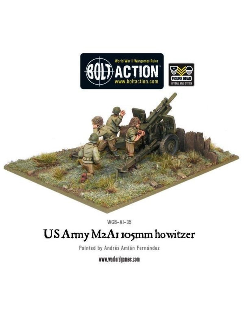 Bolt Action BA American Army: M2A1 105mm Howitzer