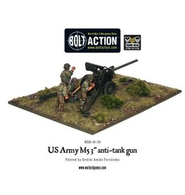 "Bolt Action BA American Army: M5 3"" Anti-Tank Gun"