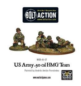 Bolt Action BA American Army: 50 Cal HMG Team