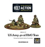 Bolt Action BA American Army: 50 Cal HMG Team