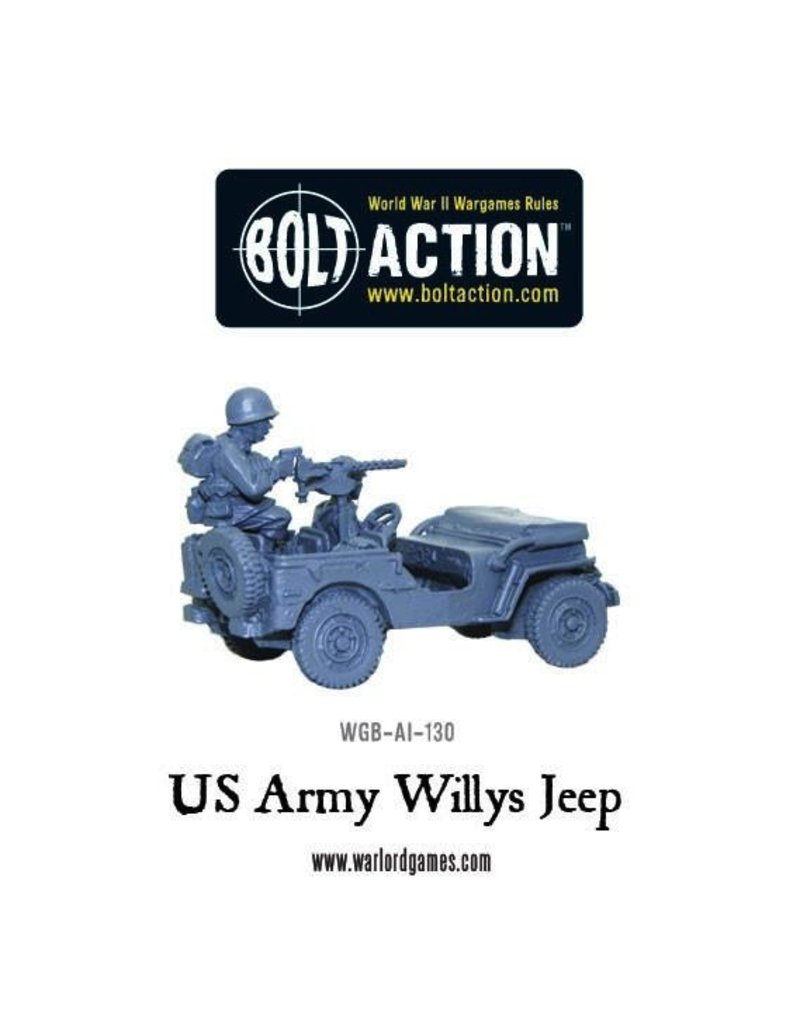 Bolt Action BA American Army: Willys Jeep