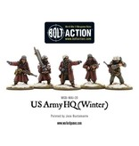 Bolt Action BA American Army: US Army HQ (Winter)