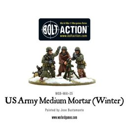 Bolt Action BA American Army: US Army Medium Mortar (Winter)