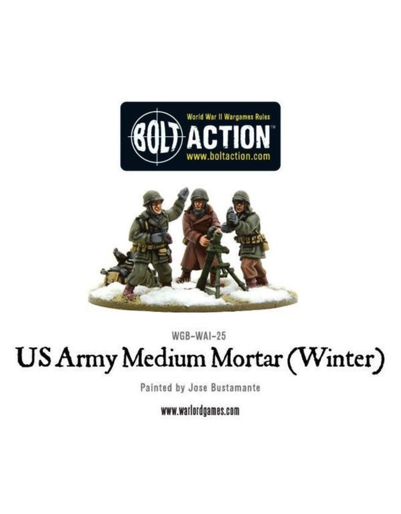Bolt Action BA American Army: US Army Medium Mortar (Winter)