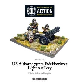 Bolt Action BA American Army: US Airborne 75mm Pak Howitzer & Crew
