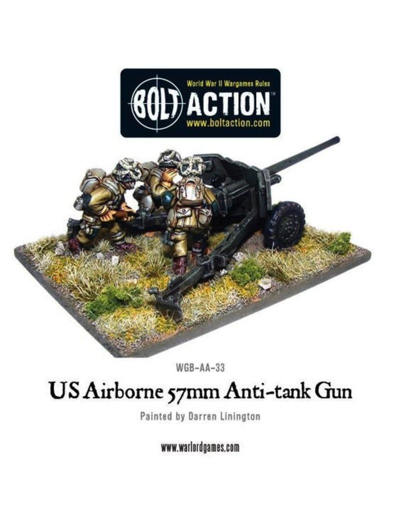Bolt Action BA American Army: US Airborne 57mm ATG & Crew