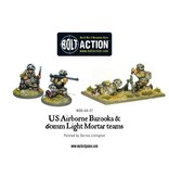 Bolt Action BA American Army: US Airborne Bazooka and 60mm Light Mortar Teams