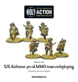 Bolt Action BA American Army: US Airborne 30cal Teams Firing/Redeploying