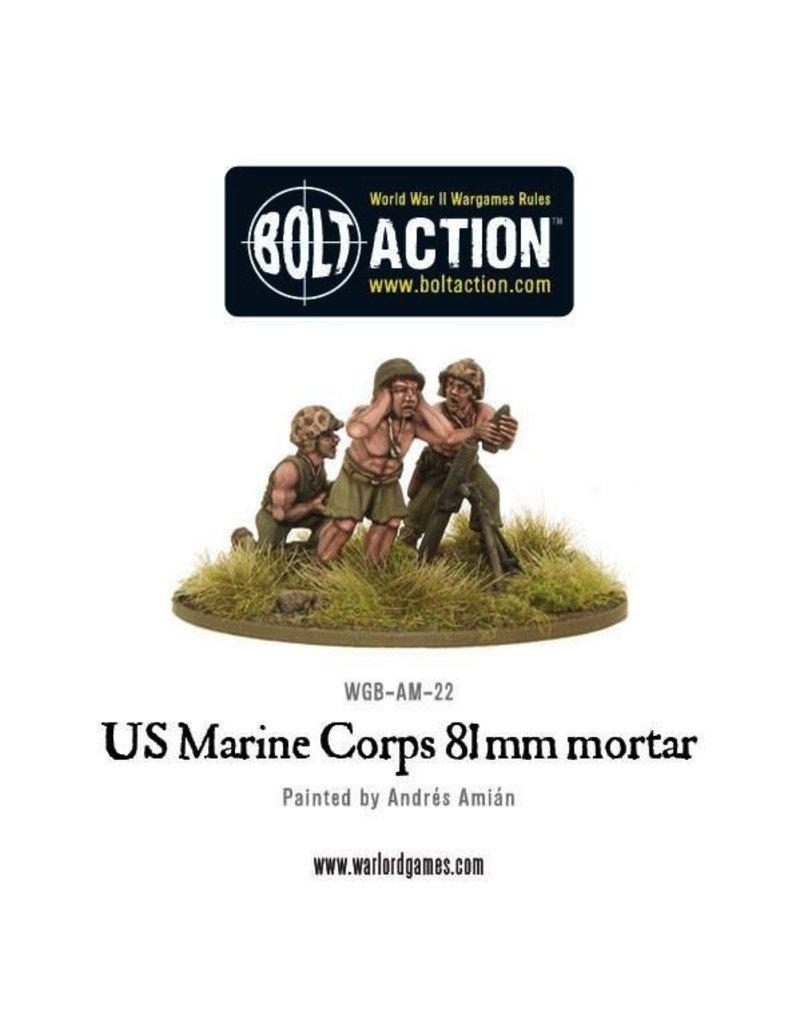 Bolt Action BA American Army: USMC 81mm Mortar