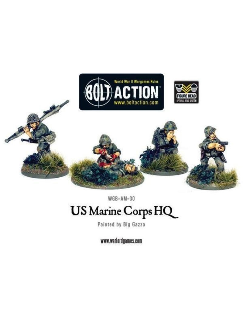 Bolt Action BA American Army: USMC HQ