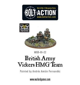 Bolt Action BA British Army: Vickers HMG Team