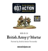 "Bolt Action BA British Army: 3"" Mortar Team"