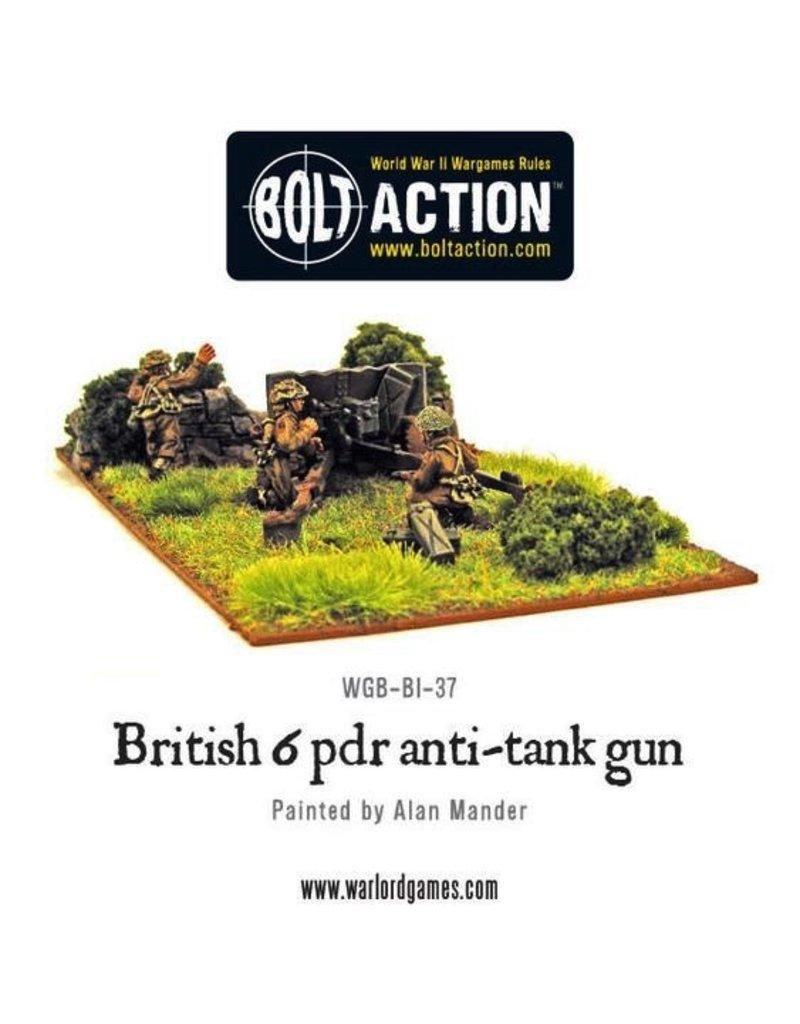 Bolt Action BA British Army: Six Pounder AT Gun