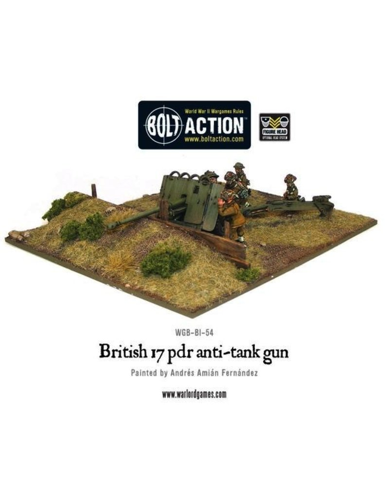 Bolt Action BA British Army: 17 pdr Anti-tank Gun