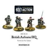 Bolt Action BA British Army: Airborne HQ