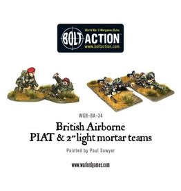 Bolt Action BA British Army: Airborne PIAT and Light Mortar Teams