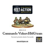 Bolt Action BA British Army: Commando Vickers HMG Team