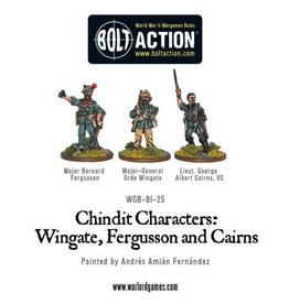 Bolt Action BA British Army: Chindit Characters (3)