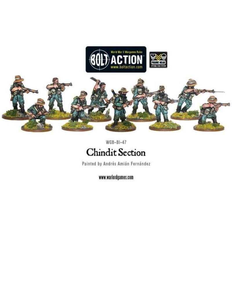 Bolt Action BA British Army: Chindit Section