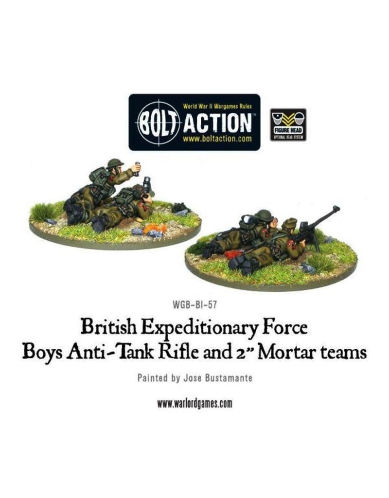 Bolt Action BA British Army: BEF Early War Anti-Tank Rifle Team