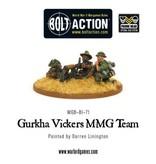 Bolt Action BA British Army: Gurkha Vickers MMG Team