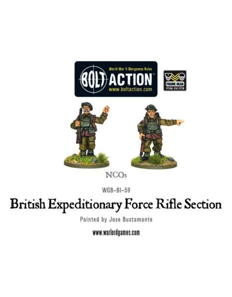 Bolt Action BA British Army: BEF Early War Section