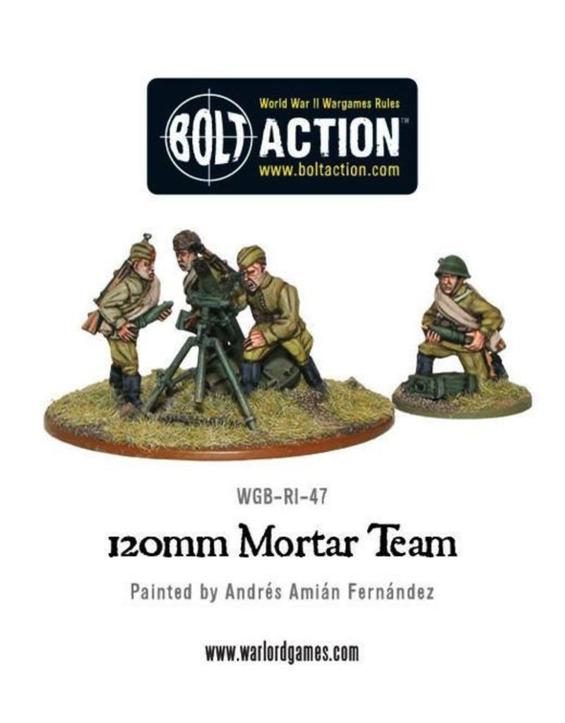 Bolt Action BA Soviet Army: 120mm Mortar
