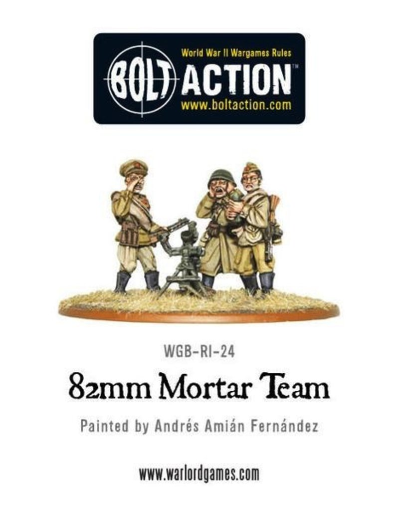 Bolt Action BA Soviet Army: 82mm Mortar Team