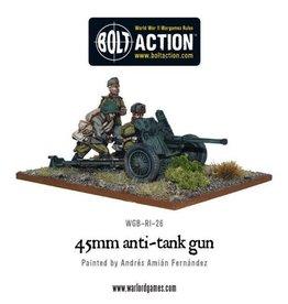 Bolt Action BA Soviet Army: 45mm Anti-Tank Gun