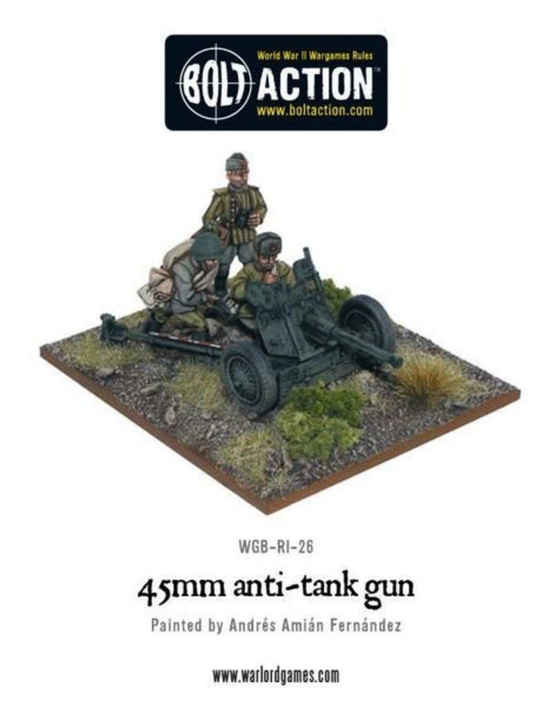 Bolt Action BA Soviet Army: 45mm Anti-Tank Gun