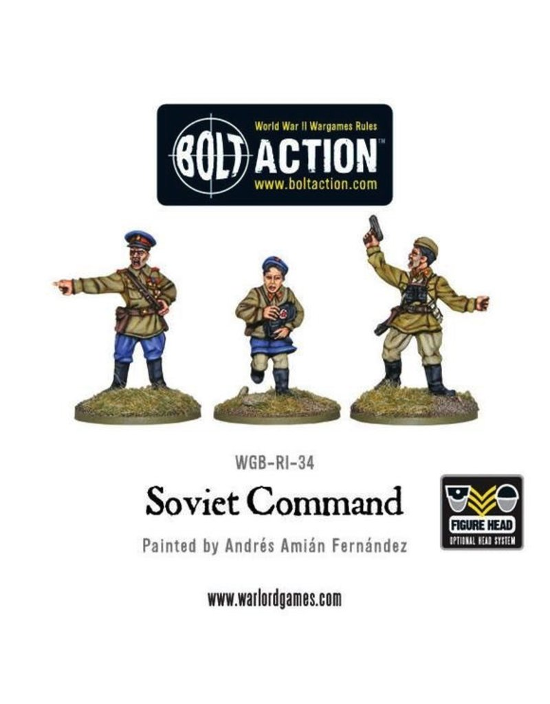 Bolt Action BA Soviet Army: Command (3)