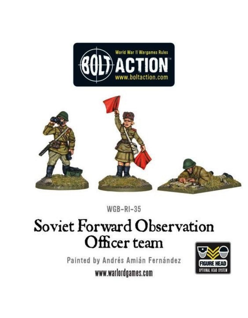 Bolt Action BA Soviet Army: Forward Observer Officers (FOO)