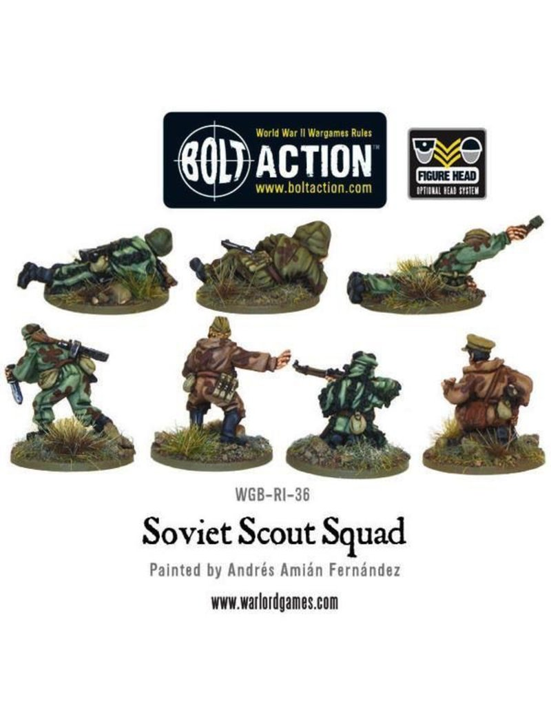 Bolt Action BA Soviet Army: Scouts (7)